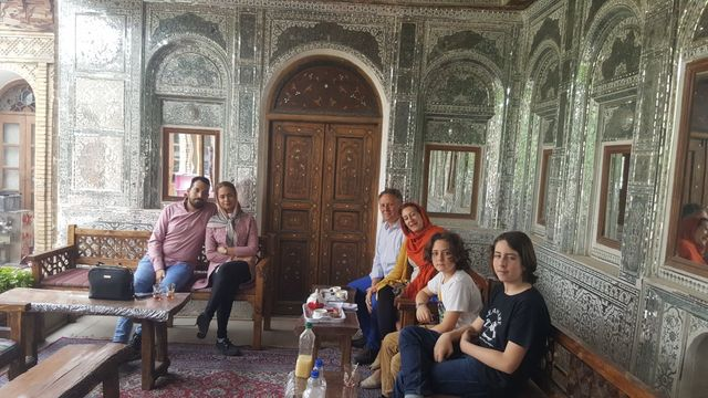 Host family in Shiraz Iran, Islamic Republic Of