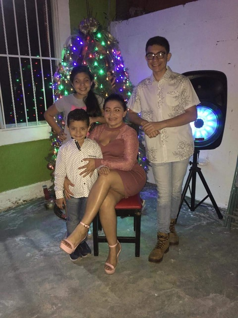 Host family in Yucatan Mexico